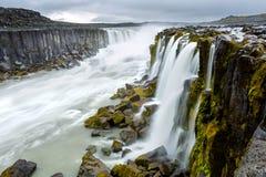 Beautiful Selfoss waterfall in Iceland Stock Photo