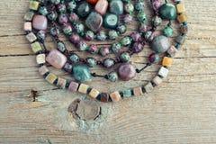 Beautiful semiprecious stone Royalty Free Stock Image