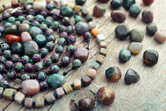 Beautiful semiprecious stone Royalty Free Stock Images