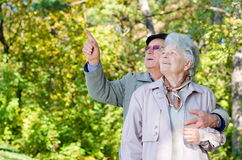 Beautiful senior couple Royalty Free Stock Images