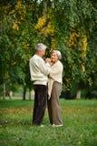 Beautiful Senior couple Stock Photo