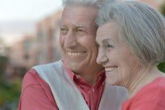 Beautiful senior couple Royalty Free Stock Image