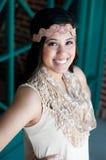 Beautiful senior girl Stock Photos