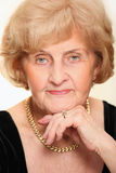 Beautiful senior lady Royalty Free Stock Images