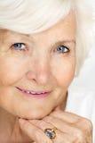 Beautiful senior lady portrait Royalty Free Stock Photo