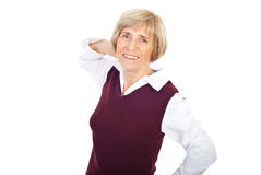 Beautiful senior woman Stock Photo