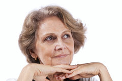 Beautiful senior woman Stock Photos