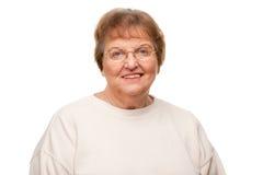 Beautiful Senior Woman Portrait Stock Images