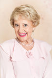 Beautiful Senior Woman - Portrait Royalty Free Stock Images