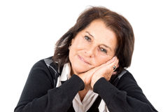 Beautiful senior woman Royalty Free Stock Photos