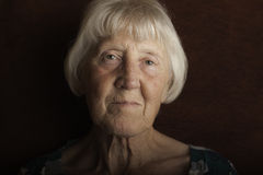 Beautiful senior woman royalty free stock photography