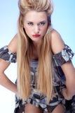 Beautiful sensitive blonde Royalty Free Stock Photo