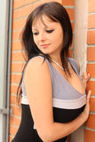 Beautiful sensitive woman Royalty Free Stock Photography