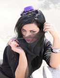 Beautiful sensitive woman Royalty Free Stock Image