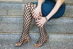 Beautiful sensual female legs Stock Photos