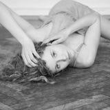 Beautiful, sensual girl Royalty Free Stock Photos