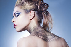 Beautiful, sensual girl Royalty Free Stock Photo