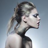 Beautiful, sensual girl Stock Photography