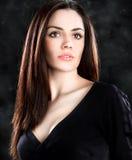 Beautiful  sensual woman  posing Stock Photography