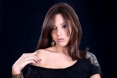 Beautiful  sensual woman  posing Stock Photo