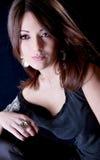 Beautiful  sensual woman  posing Royalty Free Stock Image