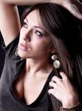 Beautiful  sensual woman  posing Royalty Free Stock Images