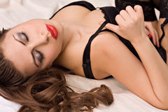 Beautiful sensuality woman Stock Photo