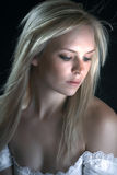 Beautiful Serene Lady Stock Photography