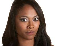 Beautiful and Serious Black Woman Stock Photos