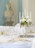 Beautiful served table Royalty Free Stock Photography