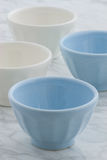Beautiful set of bowls Royalty Free Stock Image