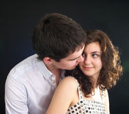 Beautiful sexual couple Royalty Free Stock Photos