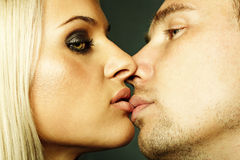 beautiful sexual couple Stock Photography