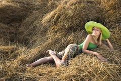 Beautiful sexual girl Stock Photography