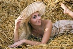 Beautiful sexual girl Stock Image