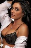 Beautiful sexy actress model Stock Image