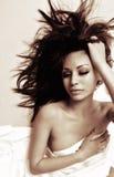 Beautiful sexy actress model Stock Photo