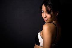 Beautiful sexy african american woman Stock Image