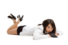 Beautiful and sexy asian girl Stock Image