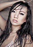 Beautiful sexy Asian woman Stock Images