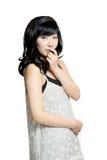 Beautiful sexy asian woman Stock Photography