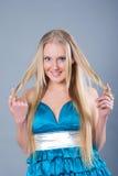 Beautiful  sexy blond girl Royalty Free Stock Image