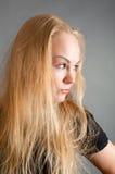 Beautiful  sexy blond girl Stock Photo
