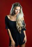 Beautiful sexy blond woman portrait Stock Photography
