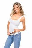 Beautiful sexy blonde Stock Photos