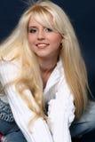 Beautiful and sexy blonde girl Stock Photo