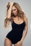 Beautiful sexy blonde woman Royalty Free Stock Photography