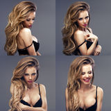 Beautiful sexy blonde woman Royalty Free Stock Images