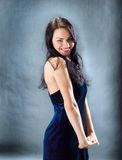 Beautiful sexy brunette girl Stock Photo
