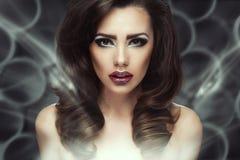 Beautiful sexy brunette woman Stock Image